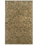 RugStudio presents LR Resources Majestic LR9304 Green Hand-Tufted, Good Quality Area Rug