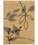 RugStudio presents LR Resources Opulence LR80951 Cream-Blue Machine Woven, Good Quality Area Rug