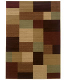 RugStudio presents LR Resources Opulence LR80956 Cream- Cherry Machine Woven, Good Quality Area Rug
