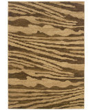 RugStudio presents LR Resources Opulence LR80958 Cream- Light Brown Machine Woven, Good Quality Area Rug