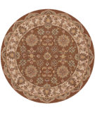RugStudio presents LR Resources Shapes LR10563 Coffee-Ivory Hand-Tufted, Good Quality Area Rug