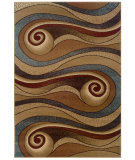 RugStudio presents LR Resources Adana Lr80241 Gold/Brown Machine Woven, Good Quality Area Rug
