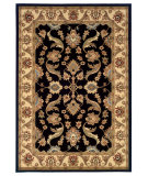 RugStudio presents LR Resources Adana Lr80371 Black/Cream Machine Woven, Good Quality Area Rug