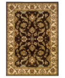 RugStudio presents LR Resources Adana Lr80371 Brown/Cream Machine Woven, Good Quality Area Rug