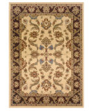 RugStudio presents LR Resources Adana Lr80371 Cream/Brown Machine Woven, Good Quality Area Rug