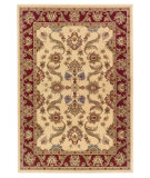 RugStudio presents LR Resources Adana Lr80371 Cream/Red Machine Woven, Good Quality Area Rug
