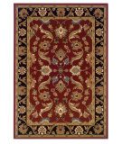 RugStudio presents LR Resources Adana Lr80371 Red/Black Machine Woven, Good Quality Area Rug