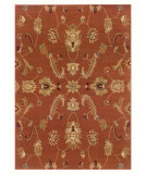 RugStudio presents LR Resources Adana Lr80715 Rust Machine Woven, Good Quality Area Rug