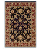 RugStudio presents LR Resources Adana Lr80716 Black/Red Machine Woven, Good Quality Area Rug