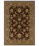 RugStudio presents LR Resources Adana Lr80716 Brown/Gold Machine Woven, Good Quality Area Rug
