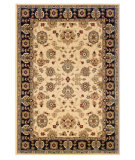 RugStudio presents LR Resources Adana Lr80716 Cream/Black Machine Woven, Good Quality Area Rug