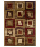 RugStudio presents LR Resources Adana Lr80891 Brown Machine Woven, Good Quality Area Rug