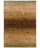 RugStudio presents LR Resources Adana Lr80903 Light Brown/ Light Moss Machine Woven, Good Quality Area Rug