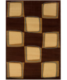 RugStudio presents LR Resources Adana Lr80916 Brown/Cream Machine Woven, Good Quality Area Rug