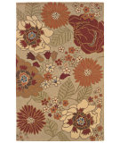 RugStudio presents LR Resources Dazzle Lr54002 Beige Hand-Hooked Area Rug