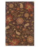 RugStudio presents LR Resources Dazzle Lr54004 Brown Hand-Hooked Area Rug