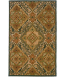 RugStudio presents LR Resources Dazzle Lr54007 Blue Hand-Hooked Area Rug