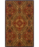 RugStudio presents LR Resources Dazzle Lr54007 Red Hand-Hooked Area Rug