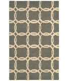 RugStudio presents LR Resources Dazzle Lr54015 Ash/Beige Hand-Hooked Area Rug