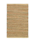 RugStudio presents LR Resources Natural Fiber Lr03345 Dark Rust Sisal/Seagrass/Jute Area Rug