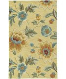 RugStudio presents LR Resources Enchant Lr02010 Yellow Hand-Hooked Area Rug