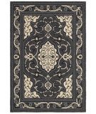 RugStudio presents LR Resources Lanai Lr80945 Anthracite/Cream Machine Woven, Good Quality Area Rug
