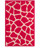 RugStudio presents LR Resources Fashion Lr02513 Pink Hand-Tufted, Good Quality Area Rug