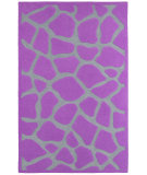 RugStudio presents LR Resources Fashion Lr02514 Purple Hand-Tufted, Good Quality Area Rug