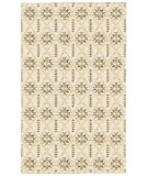 RugStudio presents LR Resources Rajani Lr04401 Cream Hand-Knotted, Best Quality Area Rug