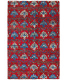 RugStudio presents LR Resources Rajani Lr04403 Red Multi Hand-Knotted, Best Quality Area Rug