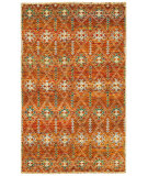 RugStudio presents LR Resources Rajani Lr04405 Rust Hand-Knotted, Best Quality Area Rug