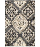 RugStudio presents LR Resources Rajani Lr04406 Gray Hand-Knotted, Best Quality Area Rug