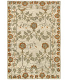 RugStudio presents Rugstudio Sample Sale 109329R Natural / Rust Hand-Knotted, Best Quality Area Rug