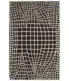 RugStudio presents LR Resources Jaali Lr04901 Charcoal Woven Area Rug