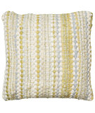RugStudio presents LR Resources Pillows Lr07240 Yellow/ Gray
