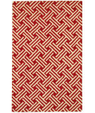 RugStudio presents LR Resources Dazzle Lr54022 Red Hand-Hooked Area Rug