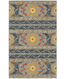 RugStudio presents LR Resources Dazzle Lr54035 Gray Hand-Hooked Area Rug