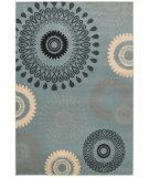 RugStudio presents LR Resources Adana Lr80976 Light Blue Machine Woven, Good Quality Area Rug