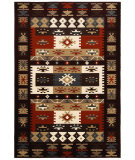 RugStudio presents LR Resources Adana Lr80980 Burgundy Machine Woven, Good Quality Area Rug