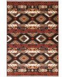 RugStudio presents LR Resources Adana Lr80982 Brown Machine Woven, Good Quality Area Rug