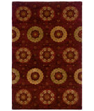 RugStudio presents LR Resources Majestic Lr9301 Chili Red Woven Area Rug