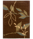 RugStudio presents LR Resources Opulence Lr80950 Light Brown/ Light Moss Machine Woven, Good Quality Area Rug
