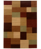 RugStudio presents LR Resources Opulence Lr80956 Cream/ Cherry Machine Woven, Good Quality Area Rug