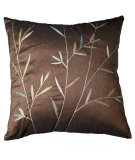 RugStudio presents LR Resources Pillows Lr07155 Chocolate