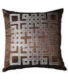 RugStudio presents LR Resources Pillows Lr07166 Chocolate