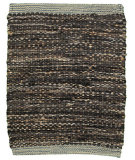 RugStudio presents LR Resources Tribeca Lr04316 Black Flat-Woven Area Rug