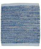 RugStudio presents LR Resources Tribeca Lr04318 Blue Flat-Woven Area Rug