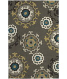 RugStudio presents LR Resources Enchant Lr02012 Grey Hand-Hooked Area Rug