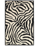 RugStudio presents LR Resources Fashion Lr02512 Black/Cream Area Rug