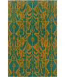 RugStudio presents LR Resources Vibrance Lr03557 Blue Hand-Tufted, Good Quality Area Rug